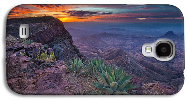 Epic Galaxy S4 Cases - South Rim Sunrise Galaxy S4 Case by Inge Johnsson