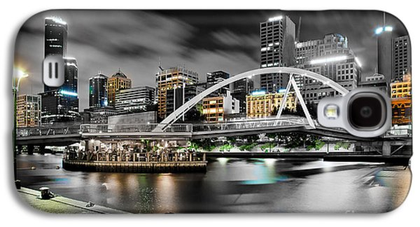 Symbolic Photographs Galaxy S4 Cases - Southbank Footbridge Galaxy S4 Case by Az Jackson