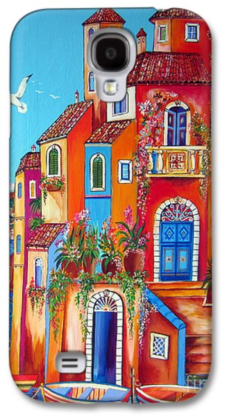 Southern Italy Amalfi Coast Village Galaxy S4 Case by Roberto Gagliardi