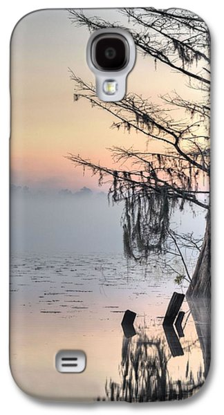 Cypress Swamp Galaxy S4 Cases - Southern Sunrise  Galaxy S4 Case by JC Findley