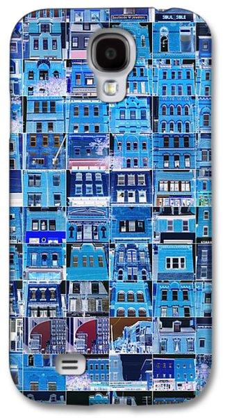 Building Framed Prints Galaxy S4 Cases - Southside Pittsburgh Galaxy S4 Case by Joe Jake Pratt