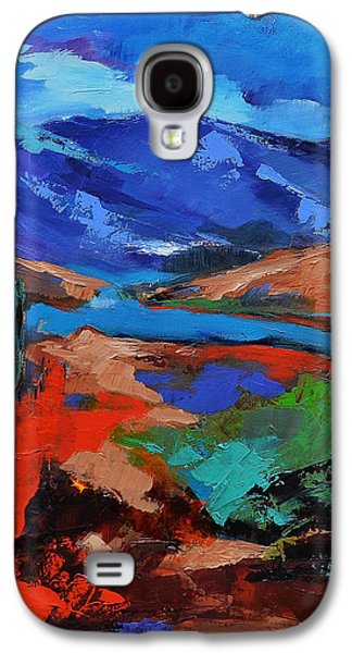Wilderness Paintings Galaxy S4 Cases - Southwest Arizona Trail Galaxy S4 Case by Elise Palmigiani