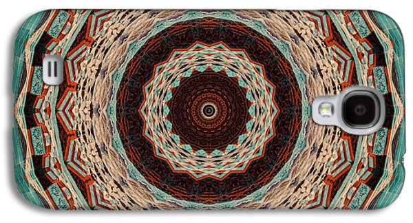 Abstract Digital Photographs Galaxy S4 Cases - Southwest Mandala Galaxy S4 Case by Cindi Ressler