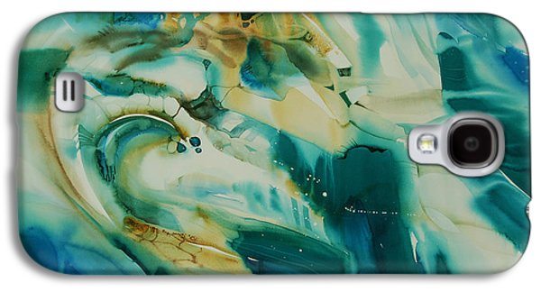 Landscape Acrylic Prints Pastels Galaxy S4 Cases - Souvenir dAfrique Galaxy S4 Case by Donna Acheson-Juillet