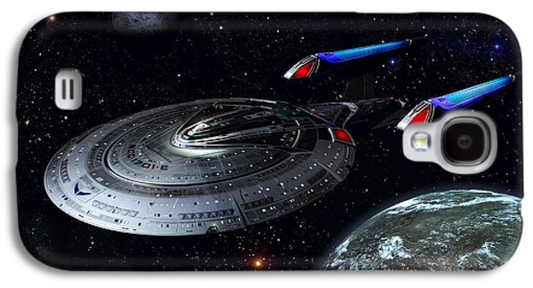 Recently Sold -  - Enterprise Galaxy S4 Cases - Sovereign Patrol Galaxy S4 Case by Joseph Soiza