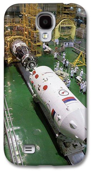 Soyuz Rocket Preparation Galaxy S4 Case by Nasa/victor Zelentsov