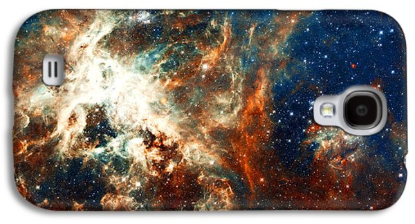 Nebula Galaxy S4 Cases - Space Fire Galaxy S4 Case by The  Vault - Jennifer Rondinelli Reilly