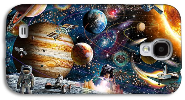 Intergalactic Space Galaxy S4 Cases - Space Odyssey Galaxy S4 Case by Adrian Chesterman