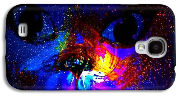 Etc. Digital Art Galaxy S4 Cases - Space Out Galaxy S4 Case by HollyWood Creation By linda zanini