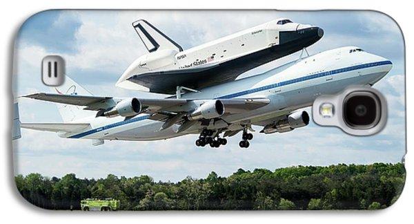 Space Shuttle Enterprise Piggyback Flight Galaxy S4 Case by Nasa/smithsonian Institution/mark Avino