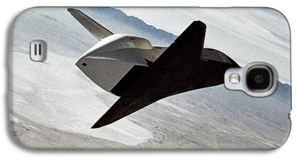 Space Shuttle Enterprise Test Flight Galaxy S4 Case by Nasa