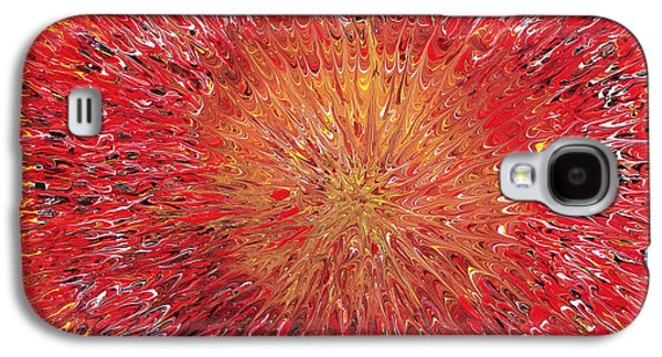 Morphing Galaxy S4 Cases - Spacetime Expansion  Galaxy S4 Case by Maxwell Hanson