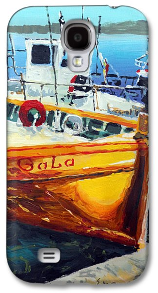 Spain Paintings Galaxy S4 Cases - Spain Series 01 Cadaques Portlligat Galaxy S4 Case by Yuriy Shevchuk