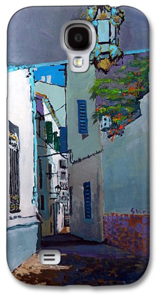 Spain Paintings Galaxy S4 Cases - Spain Series 09 Cadaques Galaxy S4 Case by Yuriy Shevchuk