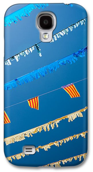 Freedom Party Galaxy S4 Cases - Spanish Street Bunting  Galaxy S4 Case by Chay Bewley