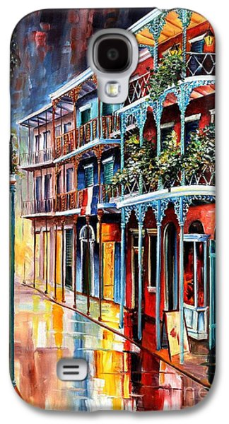 City Scene Galaxy S4 Cases - Sparkling French Quarter Galaxy S4 Case by Diane Millsap