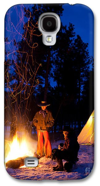 Snowy Evening Galaxy S4 Cases - Sparks of Inspiration Galaxy S4 Case by Inge Johnsson