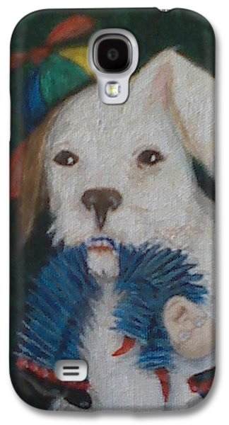 Dick Cheney Galaxy S4 Cases - Sparky and Dick Galaxy S4 Case by Georgia Griffin
