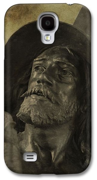 Statue Portrait Galaxy S4 Cases - Spartacus Galaxy S4 Case by Dan Sproul