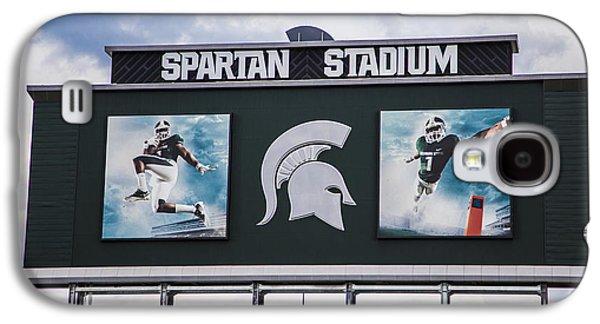 Spartan Stadium Scoreboard  Galaxy S4 Case by John McGraw