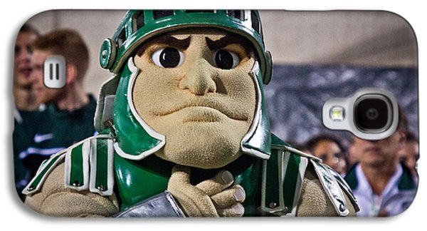 Sparty And Izzo National Anthem  Galaxy S4 Case by John McGraw