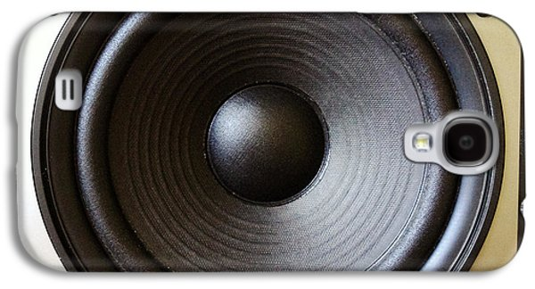 Electronics Photographs Galaxy S4 Cases - Speaker Galaxy S4 Case by Les Cunliffe