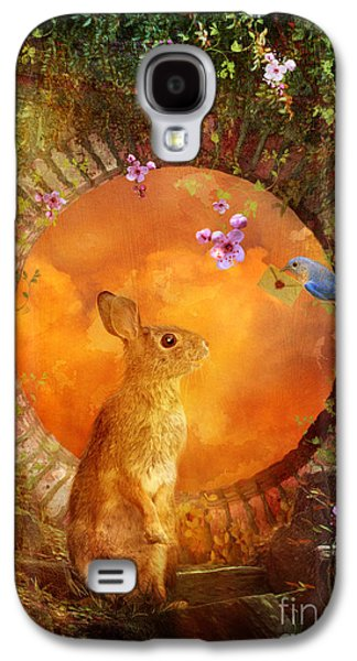 Rabbit Digital Galaxy S4 Cases - Special Delivery Galaxy S4 Case by Aimee Stewart