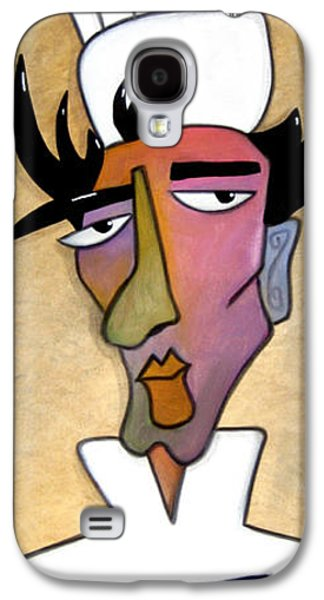 Modern Abstract Galaxy S4 Cases - Special Sauce Galaxy S4 Case by Tom Fedro - Fidostudio