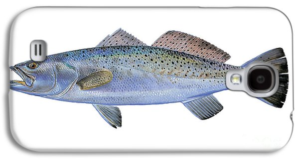 Speckled Trout Galaxy S4 Case by Carey Chen