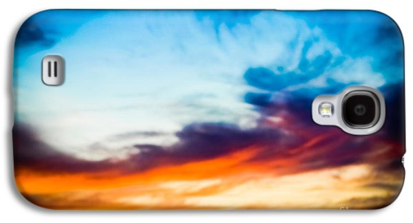 Original Art Photographs Galaxy S4 Cases - Spectacular Sky Galaxy S4 Case by Colleen Kammerer