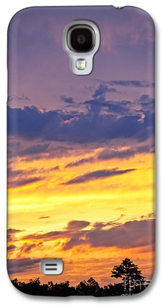 Amazing Sunset Galaxy S4 Cases - Spectacular sunset Galaxy S4 Case by Elena Elisseeva
