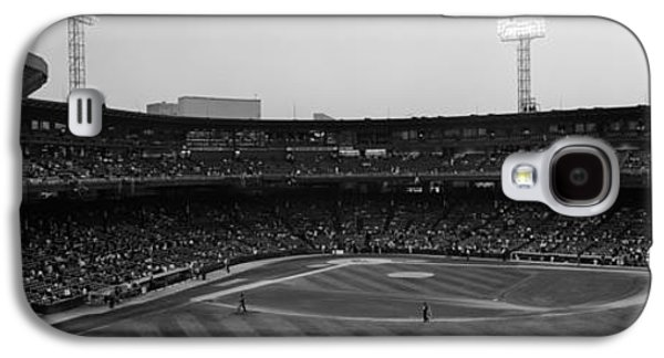 Sports Photographs Galaxy S4 Cases - Spectators In A Baseball Park, U.s Galaxy S4 Case by Panoramic Images