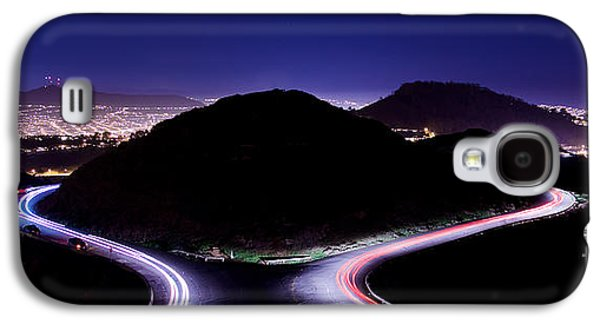 Nature Abstract Galaxy S4 Cases - Speed of Light Galaxy S4 Case by Engel Ching