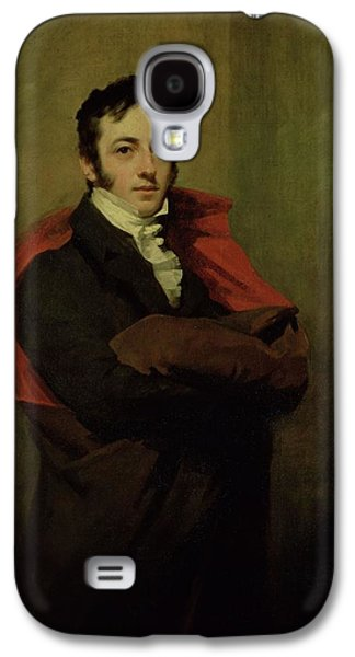 Reformer Galaxy S4 Cases - Spencer, 2nd Marquess Of Northampton, 1821 Galaxy S4 Case by Sir Henry Raeburn