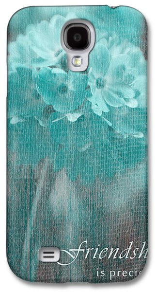 Flower Design Photographs Galaxy S4 Cases - Sphere Floral - gr13tq - Frienship Galaxy S4 Case by Variance Collections