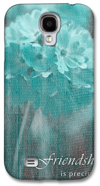 Sphere Floral - Gr13tq - Frienship Galaxy S4 Case by Variance Collections