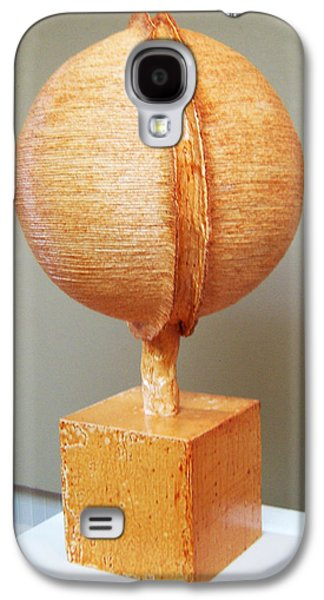 Modern Abstract Sculptures Galaxy S4 Cases - Sphere of Influence Galaxy S4 Case by Daniel P Cronin