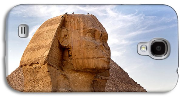 Civilization Galaxy S4 Cases - Sphinx Egypt Galaxy S4 Case by Jane Rix