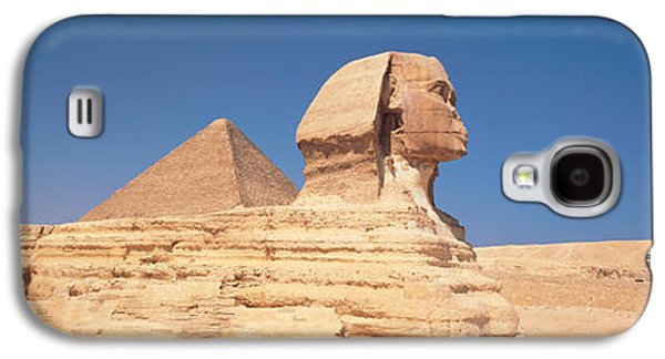 Monolith Galaxy S4 Cases - Sphinx Giza Egypt Galaxy S4 Case by Panoramic Images