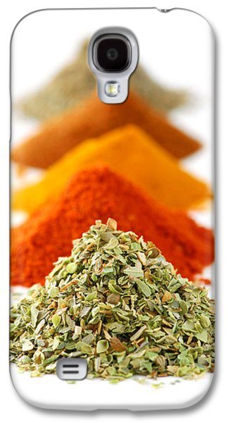 Dried Photographs Galaxy S4 Cases - Spices Galaxy S4 Case by Elena Elisseeva