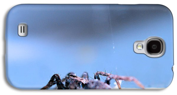 Metallica Galaxy S4 Cases - Spider in blue tone Galaxy S4 Case by Toppart Sweden