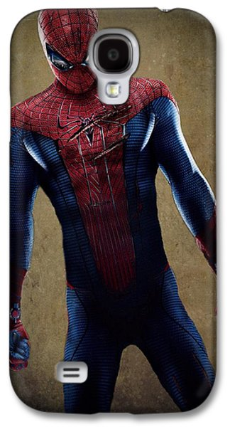 Crime Fighter Galaxy S4 Cases - Spider-Man 2.1 Galaxy S4 Case by Movie Poster Prints