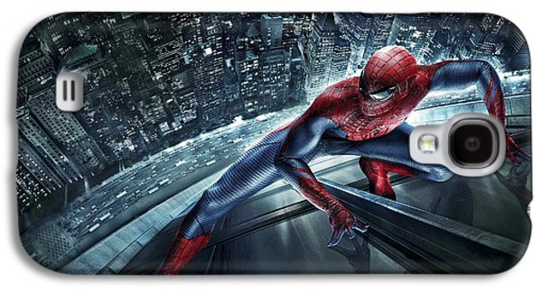 Crime Fighter Galaxy S4 Cases - Spider Man 210 Galaxy S4 Case by Movie Poster Prints