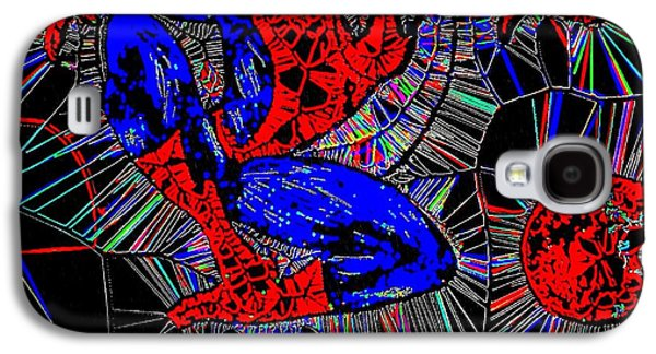 Crime Fighter Galaxy S4 Cases - Spider-Man Out of The Web 2 Galaxy S4 Case by Saundra Myles