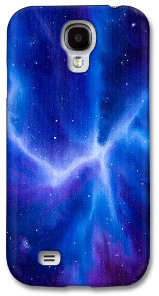 Stellar Paintings Galaxy S4 Cases - Spider Nebula Galaxy S4 Case by James Christopher Hill