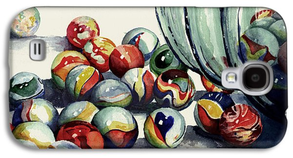 Marble Galaxy S4 Cases - Spilled Marbles Galaxy S4 Case by Sam Sidders