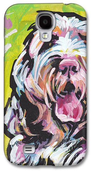 Puppies Galaxy S4 Cases - Spin One Baby Galaxy S4 Case by Lea