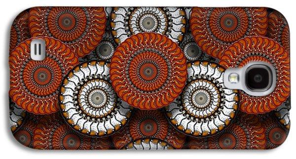 Gear Digital Galaxy S4 Cases - Spinning in Harmony  Galaxy S4 Case by Mike McGlothlen