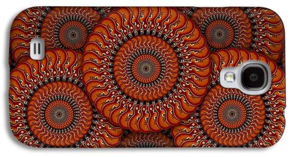 Gear Digital Galaxy S4 Cases - Spinning Guitars 2 Galaxy S4 Case by Mike McGlothlen