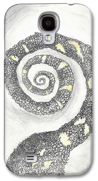 Angela Pelfrey Galaxy S4 Cases - Spiral Galaxy S4 Case by Angela Pelfrey